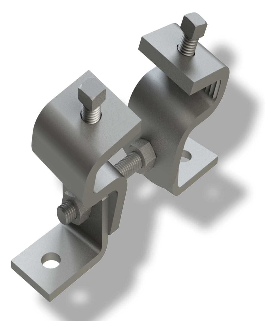 hinged beam clamp